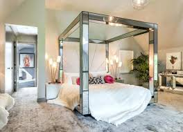 Mirror Bed Frame Bed Frame Mirror Headboard Bedroom Mattress Storage Space
