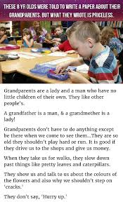 write a paper 8 year olds write a paper about grandparents and is hysterical and 1132