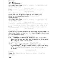 full block letter format pdf cover letter templates