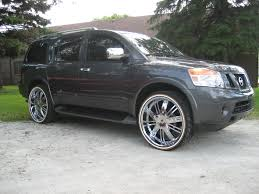 custom lifted nissan armada chitownsillest 2009 nissan pathfinder armada specs photos