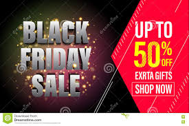 black friday christmas card deals black friday sale banner poster discount card stock illustration