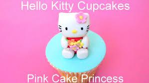 hello kitty cupcake figurine how to by pink cake princess