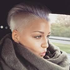 Kurzschnitt Frisuren by Die Besten 25 Rasierte Haare Ideen Auf Rasierte Haare