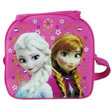 disney frozen lunch bags disney frozen elsa anna pink