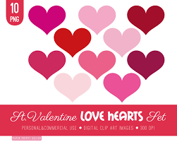 valentine u0027s day clipart pink valentine hearts pencil and in