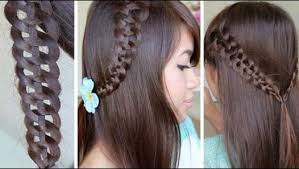 easy and beautiful knotted hairstyle tutorial video dailymotion