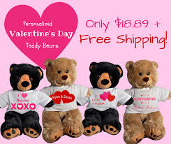 valentines day stuffed animals personalized stuffed animals s day personalized