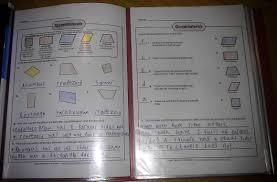maths notebooking geometry notebook guide pages iman u0027s home
