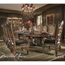 Aico Furniture Dining Room Sets Villa Valencia Rectangular Dining Room Set Aico Furniture