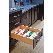 kitchen cabinet drawer peg organizer rev a shelf 4sdi 18 16 inch 3 tier trim to fit wooden spice drawer storage organizer cabinet insert maple