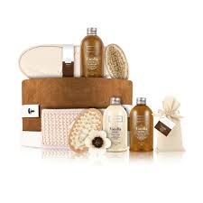 bath and gift sets berry hat box luxury bath gift set by winter in venice
