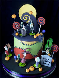 nightmare before christmas cake decorations nightmare before christmas birthday cake the nightmare before