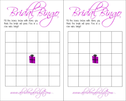 bridal shower gift bingo bridal bingo and a free printable a on a budget