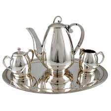 Coffee Set 1stdibs four sterling silver coffee set by gonzalo w