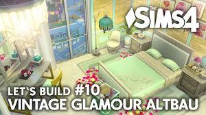 Omas Schlafzimmer Bilder Romantisches Schlafzimmer Die Sims 4 Haus Bauen Vintage