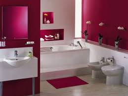 Contemporary Bathroom Decorating Ideas Contemporary Bathroom Decorating Ideas With Romantic Pink And
