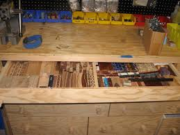 Ideas For Workbench With Drawers Design Enchanting Ideas For Workbench With Drawers Design Garage Garage