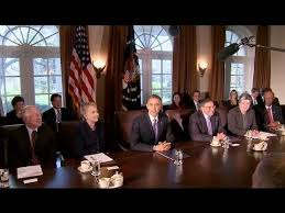 Cabinet President President Obama Holds A Cabinet Meeting Youtube