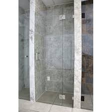 25 Shower Door Glass Warehouse 43 25 X 78 Hinged Frameless Shower Door Wayfair