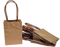 creative hobbies small kraft paper gift handle bags