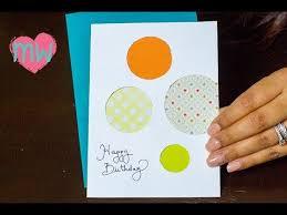 diy creative birthday card youtube