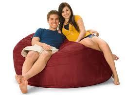 5 foot mojobagz foam filled bean bag chair ms 5dm
