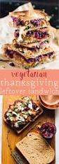 thanksgiving finger food vegetarian meatloaf and cranberry thanksgiving leftover sandwich