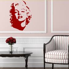 marilyn monroe home decor sexy art home decor wall sticker mural decal marilyn marilyn