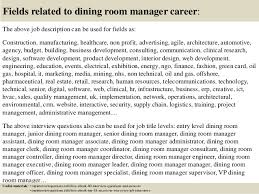 dining room manager jobs top 10 dining room manager interview questions and answers