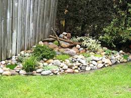 Rock In Garden Using Rocks In Landscaping Garden Front Yard With Rock Garden