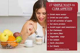 27 tricks that will help you curb appetite naturally body and beans
