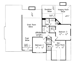 house plans with keeping rooms country style house plan 3 beds 2 50 baths 2155 sq ft plan 927 120