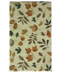 bacova accent rugs bacova rugs elegant dimensions fossil leaf accent rugs bath rugs
