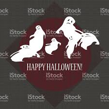 halloween background ghosts halloween background with ghosts stock vector art 508544771 istock