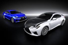 lexus van sportpakket voor en gt3 versie van lexus rc f autonieuws