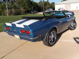 1968 camaro rs ss convertible for sale 1968 camaro rs ss convertible ls6 lemans blue white stripes