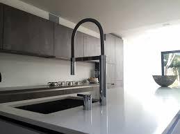 German Kitchen Concrete And Polar White Streatham Hill Blax Kitchens Ltd