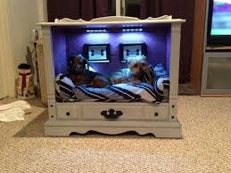 Homemade Dog Beds Diy Dog Bed End Table Pictures Homestylediary Com