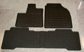 honda pilot all weather mats genuine acura mdx accessories factory oem acura accessories