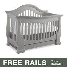 Gray Convertible Crib Baby Appleseed Davenport Convertible Crib In Moon Gray Free Shipping