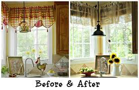 Kitchen Curtain Patterns How To Choose The Right Kitchen Valances Styles
