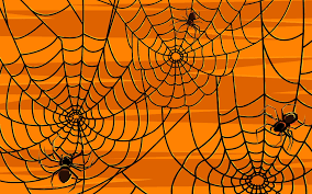 halloween spiders background clipartsgram com