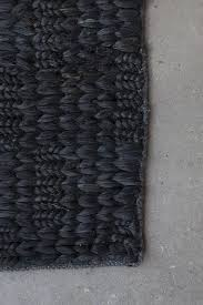 Rugs Black In From New Zealand Natural Fiber Nodi Rugs Remodelista