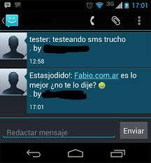 hotmail y los mensajes en el movil esos sms raros que te llegan de un desconocido de otra región