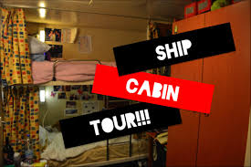 what do the crew cabins look like on cruise ships