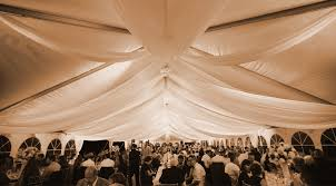 ceiling draping for weddings sheer event ceiling draping rental in iowa illinois weddings