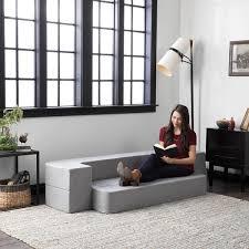 lucid 8 inch folding sofa mattress free shipping today