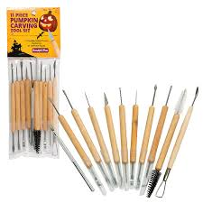amazon com pumpkin carving tools halloween sculpting kit with 11