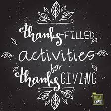 thanksgiving family activity ideas week of november 19 elisha and the widow social media plan