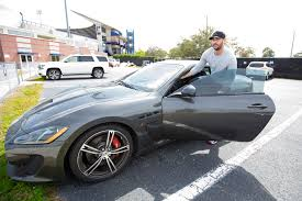 maserati supercar 2016 matt harvey rolls into spring training in 150k maserati new